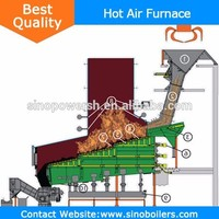 coal fired hot air furnace High Effciency Energy-Saving For producing Coal Gas force air furnace