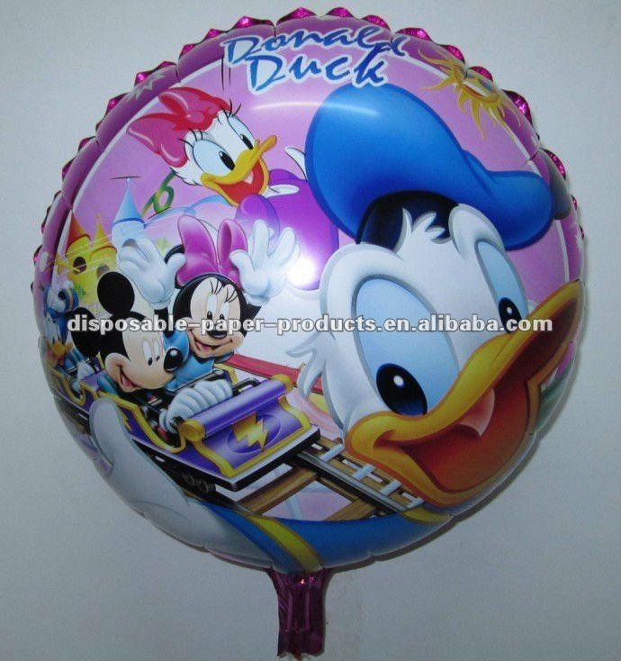 Kids Party Ware Balloons/ Character Balloons HAPPY BIRTHDAY MICKEY MINNIE MOUSE PLUTO DONALD DUCK BALLOON PARTY SUPPLY