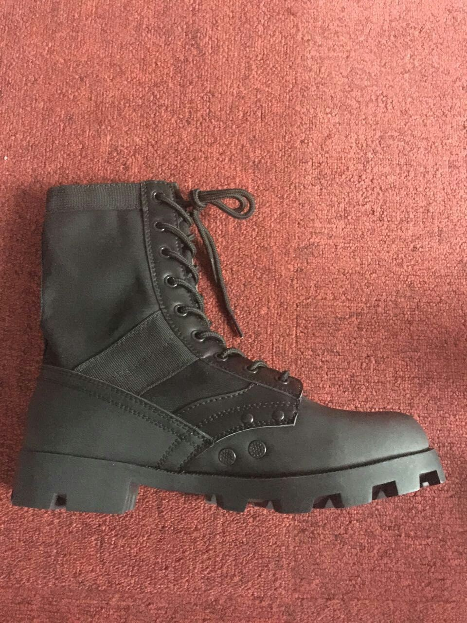 Loveslf genuine leather man army boots safety and hot selling military tactical shoes army jungle shoes
