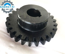 China manufacturer OEM 20CrMo precision gear metal spur gear for textile machine