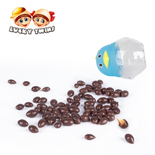 chocolate ball candy toy fan with sunflower seed