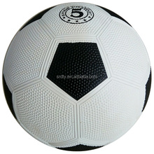Custom print promotional rubber soccer ball