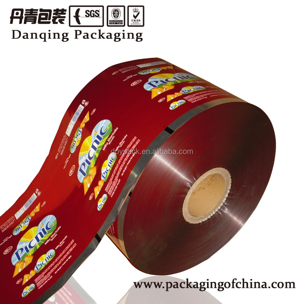 China Suppliers Laminated Packaging Roll Film