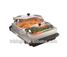 Electric stainless steel buffet warmer/warming tray