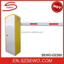 Easily assembled simple operation electronic boom barrier gate vehicle parking barrier