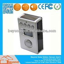motion pir sensor under cabinet light Motion Detection Alarm with Solar Panel