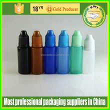 Soft 10ml Needle Bottle White Empty Plastic E Liquid Bottles for Ego Series E Cigarette fill in CE4 CE5 CE6 Vivi-since
