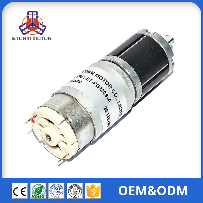 Special for Electric Vehicle 24V dc gear motor