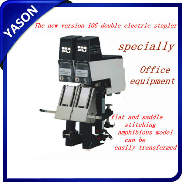 Double Head Electric Stapler, bookbinding machine, saddle binder electric binding machine stapler