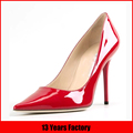 2015 mature italian fashion red high heels sexy design dress shoes for women online shopping