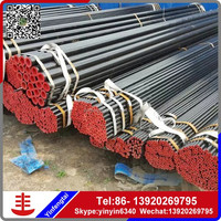 Hot Sale Q235 asme b36.10 astm a106 b seamless round steel pipe for construction