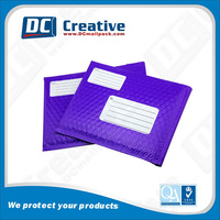 Custom printed odd size poly bubble envelopes