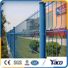 2x2 galvanized welded wire mesh for fence panel, 3D fence