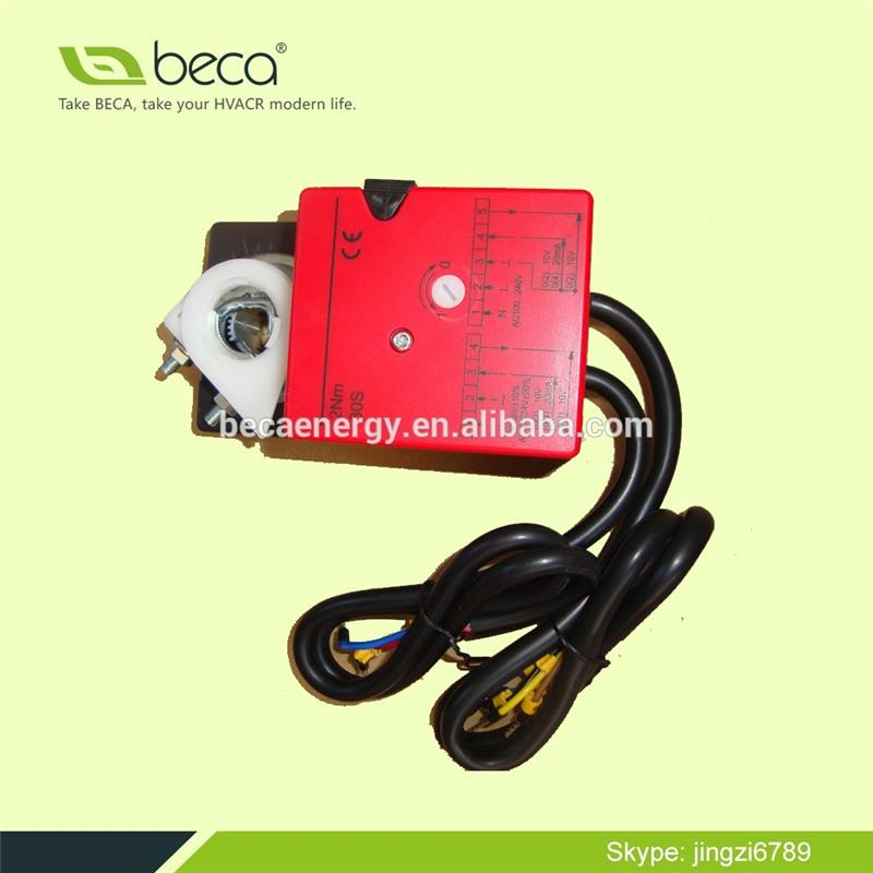 BECA SDR03 series 3 Point or modulating Control Damper Actuator 2 to 30Nm