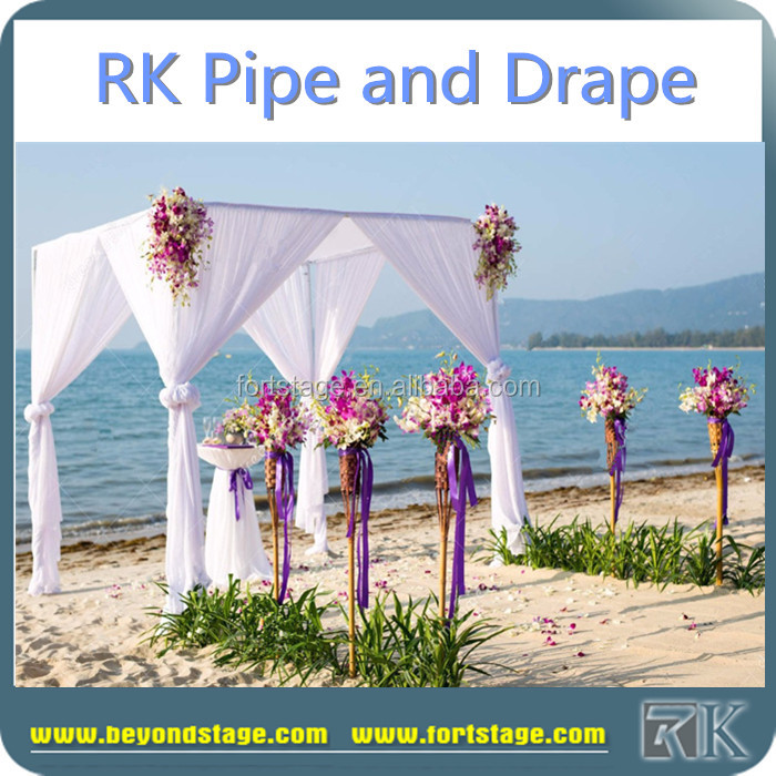 RK square racks and stands/wedding backdrop/church curtain decoration