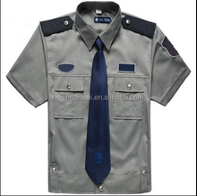 Custom logo wholesale cheap design security guard uniforms
