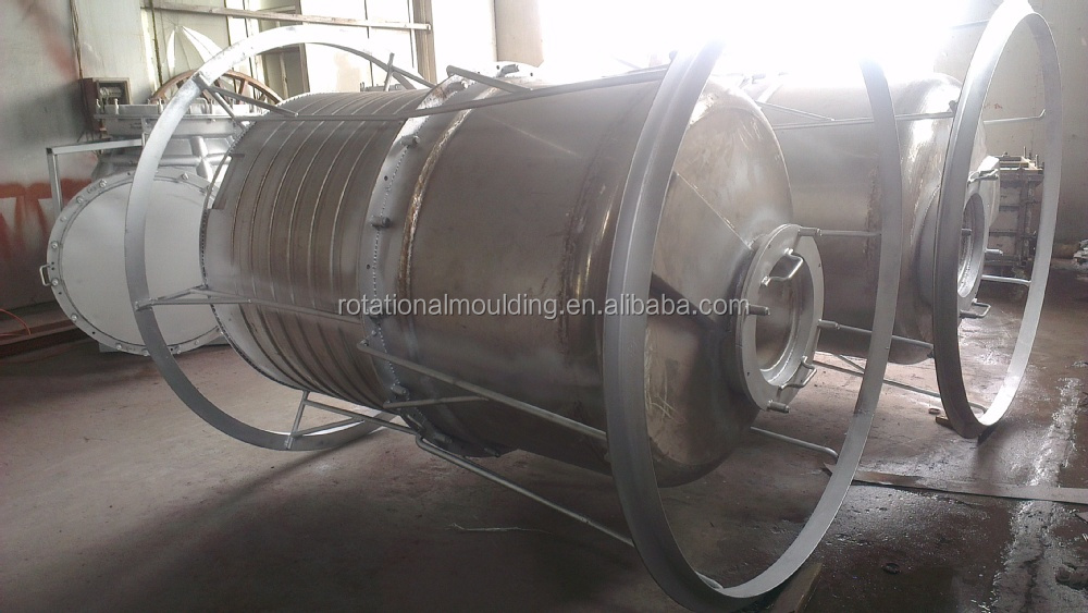 Machine for making rotational molding water tank