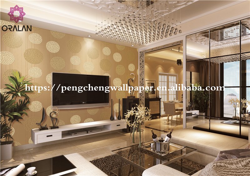 2017 New Fashion Dandelion wallpaper Living Room Bedroom Wall Stickers Wallpaper