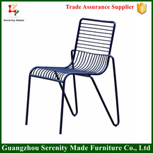 2016 good quality Modern metal wire mesh outdoor garden chair