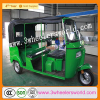 Hot New Popular Gasoline Electric Passenger Tricycle Three Wheel Scooter