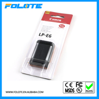 7.2v battery power pack for Canon LP-E6 5d mark II