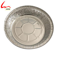 "sale takeaway 7"" round pan aluminum foil container with aluminum paper lid"