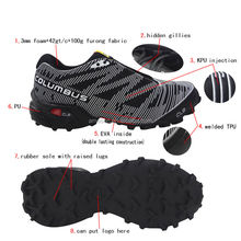2014 sport shoes colorful durable trail running shoe lastest design wholesale light running shoes