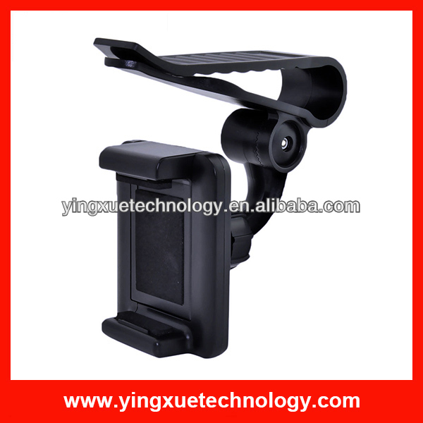 Universal Sun Visor Car Mount Holder Stand for Samsung Galaxy Note II S4 SIII S2
