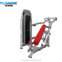 seated incline chest press
