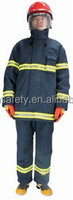 EN469 fire man suit, firefighter and rescue suit, city structure fire fighting clothing