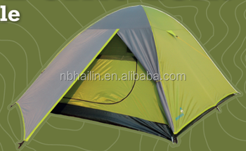 Factory sell double layer dome family tent 3 4 persons tents big dome tent
