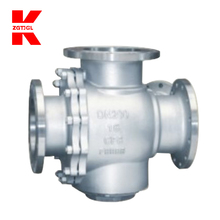 Lever operated pvc water tank float flange ball valve