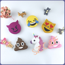 Portable Charger External Battery 2600mA Funny Emoji Unicorn Power Bank for iPhone