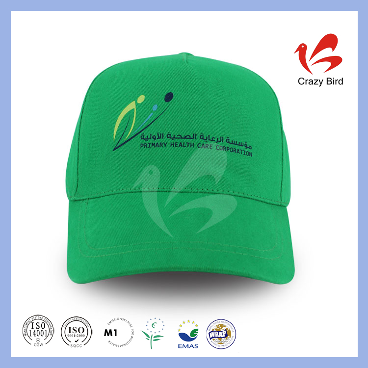 Sell Like Hot Cakes Unique Silk Printing Logo Crazy Bird 5 Panels Cap Unstructured Flat Brim Baseball Hat