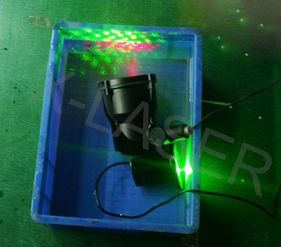 Waterproof IP65 Red and Green Christmas decoration laser light for tree