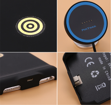Factory price wireless magnetic charger with phone standing function qi charging