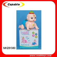 New design baby toy, B/O climb baby with music and light