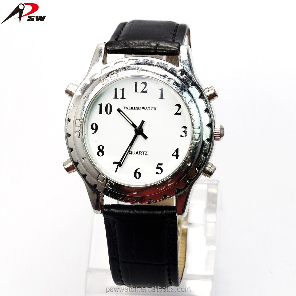 High Quality English speaking Wholesale Talking Watch For Blind People with low moq