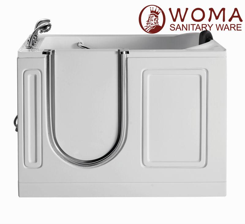 Whirlpool walk in bathtubs shower combo handicapped inward - Handicap bathtub shower combo ...