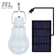 High quality indoor bulb outdoor solar panel light with hook,led emergency save money bulb