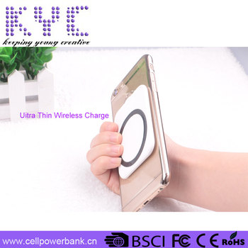 ultra wireless charging pad mini wireless charger for smartphone Q2