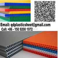 2mm - 10mm Recycled Plastic Polypropylene Corrugated Sheet