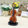 Violin shape battery type music box as gift item for birthday & Christmas