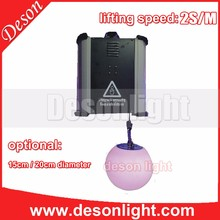Deson Kinetic dmx 512 lifting RGB ball light winch