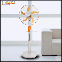 strong round base Cooling Oscillating Electric Stand Fan with timing control