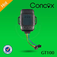 Phone number gps tracker small size tracker for motorcycle Alibaba top seller GT100