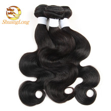 100% Natural malaysian hair virgin hair unprocessed body wave hair extensions