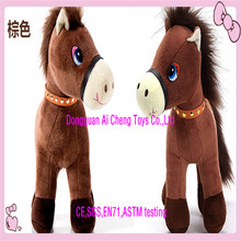Custom high quality soft plush electric walking horse toys