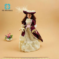 1 12 Doll House Porcelain Doll