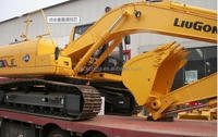 Liugong CLG915 hydraulic excavator mini excavator for sale cheap